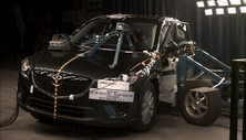2013 Mazda CX-5 SUV AWD after side crash test