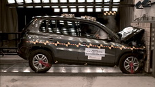 NCAP 2013 Volkswagen Tiguan front crash test photo
