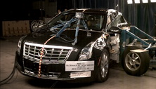 NCAP 2013 Cadillac XTS side crash test photo