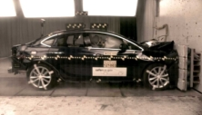 2013 Buick Verano 4 DR FWD after frontal crash test