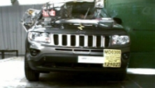 2013 Jeep Compass SUV 4WD after side pole crash test