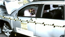 2013 Jeep Compass SUV 4WD after frontal crash test