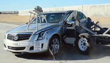 NCAP 2013 Cadillac ATS side crash test photo