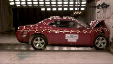 NCAP 2013 Dodge Challenger front crash test photo