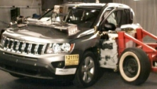 2013 Jeep Compass SUV 4WD after side crash test