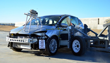 NCAP 2013 Ford Focus side crash test photo