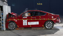 2013 Honda Accord 2 DR FWD after frontal crash test