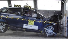 NCAP 2013 Subaru Impreza front crash test photo