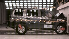 NCAP 2014 Honda Pilot front crash test photo