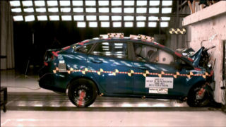 NCAP 2014 Ford Fiesta front crash test photo