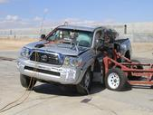 NCAP 2014 Toyota Tacoma side crash test photo