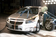 NCAP 2014 Chevrolet Cruze side crash test photo