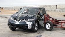 NCAP 2014 Nissan Murano side crash test photo