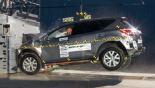 NCAP 2014 Nissan Murano front crash test photo