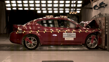 NCAP 2014 Dodge Avenger front crash test photo