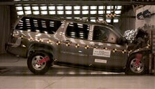 NCAP 2014 Chevrolet Suburban front crash test photo