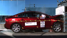 NCAP 2014 Volvo S60 front crash test photo