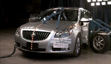 NCAP 2014 Buick Regal side crash test photo