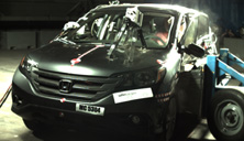 NCAP 2014 Honda CR-V side crash test photo