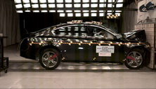 NCAP 2014 Acura TL front crash test photo