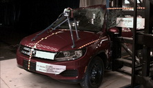 NCAP 2014 Volkswagen Tiguan side pole crash test photo