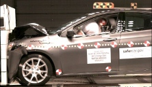 NCAP 2014 Dodge Dart front crash test photo