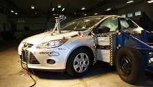 NCAP 2014 Ford Focus side crash test photo