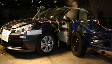 NCAP 2014 Subaru Legacy side crash test photo