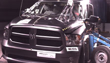 NCAP 2014 Ram 1500 side crash test photo