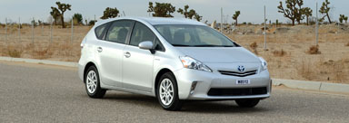 Photo of 2014 Toyota Prius V SW FWD