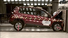 NCAP 2014 Volkswagen Tiguan front crash test photo