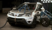 NCAP 2014 Toyota RAV4 side crash test photo