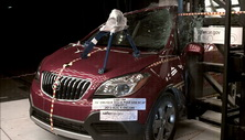 NCAP 2014 Buick Encore side pole crash test photo