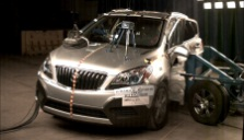 NCAP 2014 Buick Encore side crash test photo