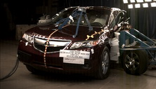 NCAP 2014 Acura RDX side crash test photo