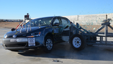NCAP 2014 Volkswagen Jetta side crash test photo