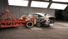 2014 Ford Fiesta 4 DR FWD after side crash test