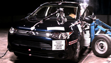 NCAP 2014 Mitsubishi Outlander side crash test photo