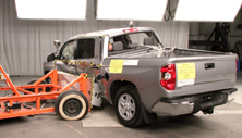 NCAP 2014 Toyota Tundra side crash test photo