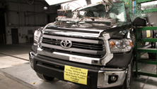 2014 Toyota Tundra PU/CC 4WD after side pole crash test