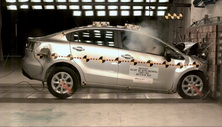 NCAP 2015 Kia Rio front crash test photo