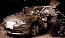 NCAP 2015 Dodge Dart side crash test photo