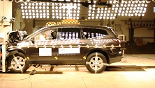 2015 Chevrolet Traverse SUV AWD after frontal crash test