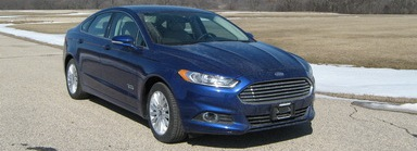 Photo of 2015 Ford Fusion Energi 4 DR FWD