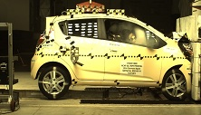 NCAP 2015 Chevrolet Spark front crash test photo