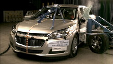 NCAP 2015 Chevrolet Malibu side crash test photo