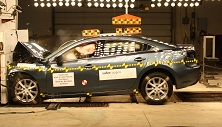 NCAP 2015 Mazda MAZDA6 front crash test photo