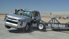 NCAP 2015 Toyota 4Runner side crash test photo