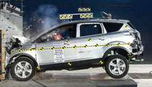 NCAP 2015 Ford Escape front crash test photo