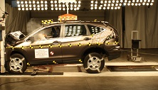 NCAP 2015 Honda CR-V front crash test photo